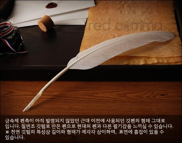 信纸羽毛笔简笔画